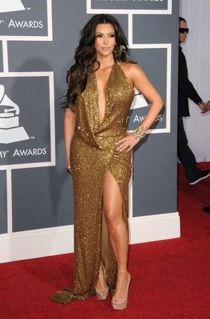 Kim-Kardashian-KaufmanFranco-Golden-Gown